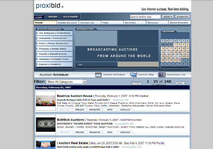 proxibid_retro_screenshot