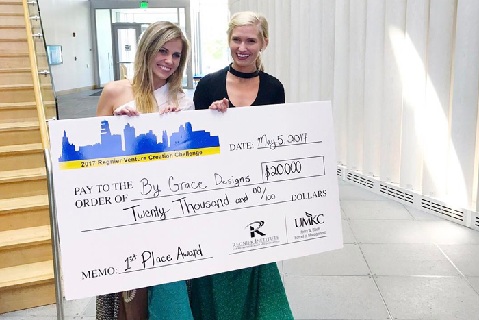 By Grace Designs takes home $20K from UMKC Challenge - Silicon ...