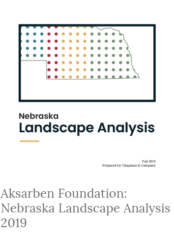 Nebraska Landscape Analysis Graphic