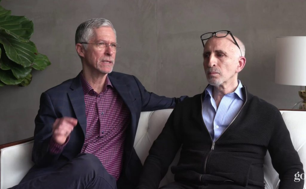 Barry Michels & Phil Stutz (from left). Photo courtesy Goop